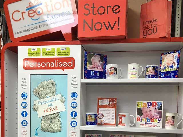 Personalised Cards and Gifts from KP News