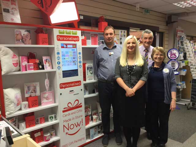 Personalised Cards and Gifts from St Johns Post Office