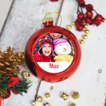 Just Photo Boy - Christmas Bauble