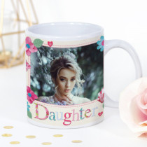 Personalised Fabrique Daughter Photo Mug