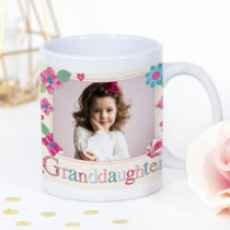 Personalised Fabrique Granddaughter Photo Mug
