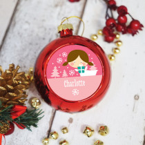 Fairy Brown - Christmas Bauble