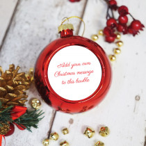 Just Text - Christmas Bauble