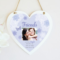Sentiments Friends - Hanging Heart With Photo Upload