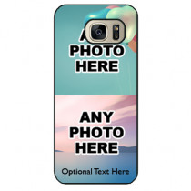 Personalised Photo Phone Case - Samsung S7 Two Photos