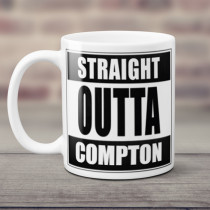 Personalised Straight Outta Mug