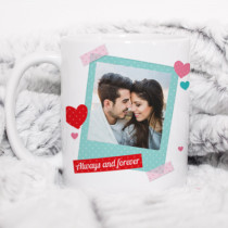 Personalised Love Polaroid Photo Mug