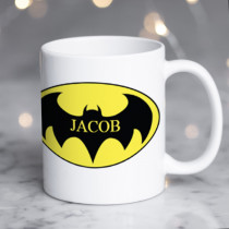 Personalised Batman Mug
