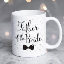 Personalised Father Of The Bride Wedding Mug