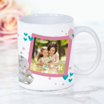 Personalised Best Mummy Photo Mug
