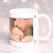 First Father's Day Photo Upload - Ceramic Mug
