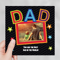 Dad - Luxury Greeting Card