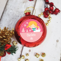 Fairy Blonde - Christmas Bauble