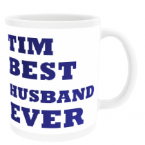 Personalised Best Husband Ever - Mug
