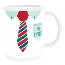 Personalised Mr Shirt and Tie Design - Mug