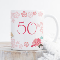 Personalised Blush Boutique Birthday Cocktail Mug