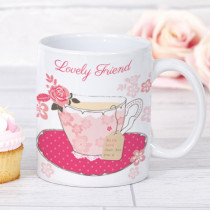 Personalised Blush Boutique Cup of Tea (Friend) - Mug
