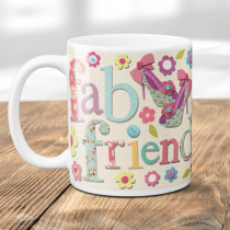 Personalised Fab Friend Fabrique - Mug