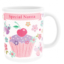 Personalised Sweet Dreams Cup Cake (Nanna) - Mug