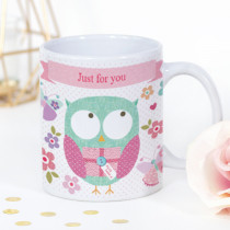 Personalised Sweet Dreams Owl Mug