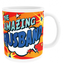Personalised Husband Comic Book - Mug