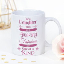 Personalised Amazing Daughter Mug