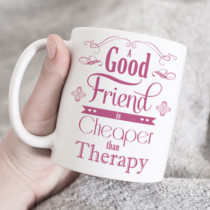 Personalised Good Friend Mug