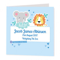 Boy Jungle - Luxury Greeting Card