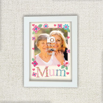 Personalised Fabrique Mum Photo Frame