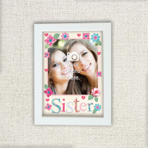 Personalised Fabrique Sister Photo Frame