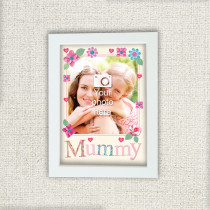 Personalised Fabrique Mummy Photo Frame