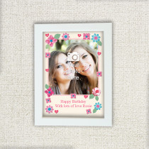 Personalised Fabrique Photo Frame