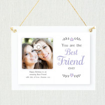 Sentimental Best Friend - Personalised Photo Frame