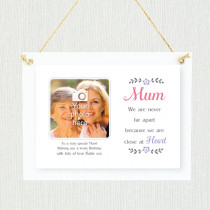 Personalised Sentimental Mum Close At Heart Photo Frame