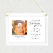 Sentimental See Your Angel - Personalised Photo Frame