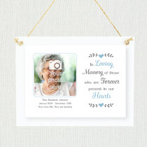 Sentimental Forever In Our Hearts - Personalised Photo Frame