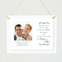 Personalised Sentimental Happy Ever After Photo Frame
