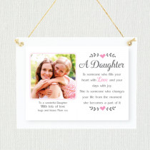 Personalised Sentimental Daughter Photo Frame
