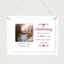 Personalised Sentimental Anniversary Photo Frame