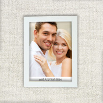 Just Photo With Text - Photo Frame