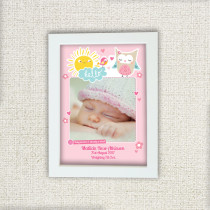 Girl Jungle - Personalised Photo Frame