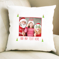 Christmas Bright General Photo Upload  - Cushion