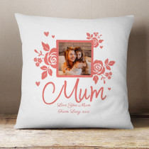 Personalised Mum Photo Cushion