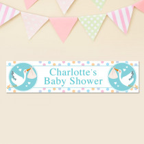 Baby Shower - Personalised Banner