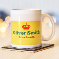 Personalised Beer Spoof Mug
