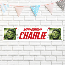 Official Personalised Marvel Incredible Hulk Banner