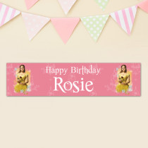 Beauty And The Beast Belle - Personalised Banner