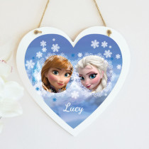 Disney Frozen Elsa And Anna - Hanging Heart