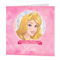 Disney Princess Aurora - Luxury Greeting Card