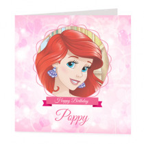 Disney Princess Ariel - Luxury Greeting Card